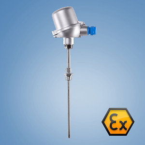 Ex i, Zone 1 Gas, threaded or compression fitting, optionally with a neck tube